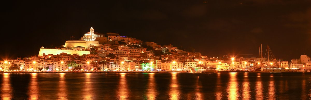 Ibiza - Dalt Vila - at night