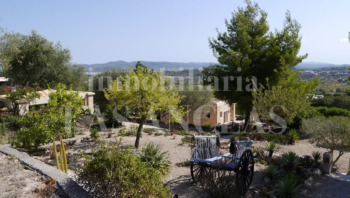 plot of land in a natural surrounding - authentic finca mansion in San José Ibiza for sale