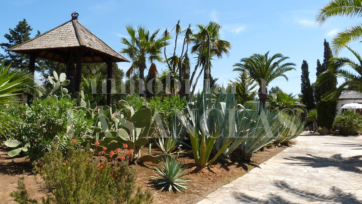 Mediterranean garden - mansion / manor house in San José Ibiza for sale