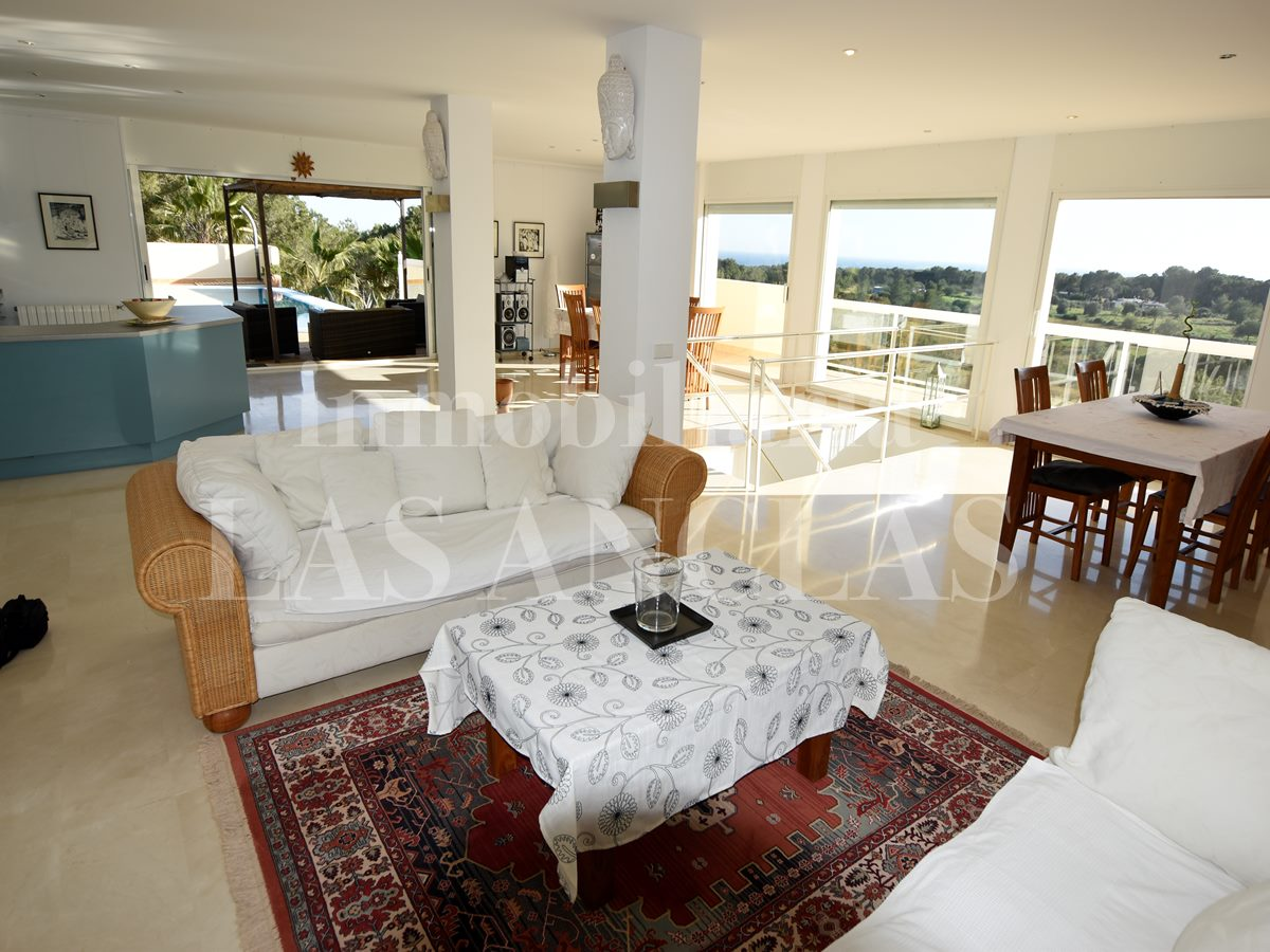 Ibiza Es Cubells - Very stylish luxury villa in exclusive location with marvellous sea views for sale