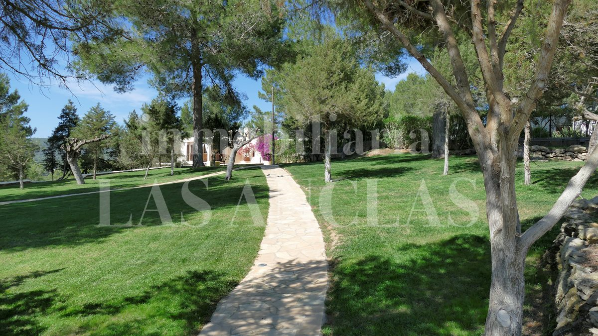 Ibiza San Rafael - Marvellous, spacious country estate including independent building plot for sale