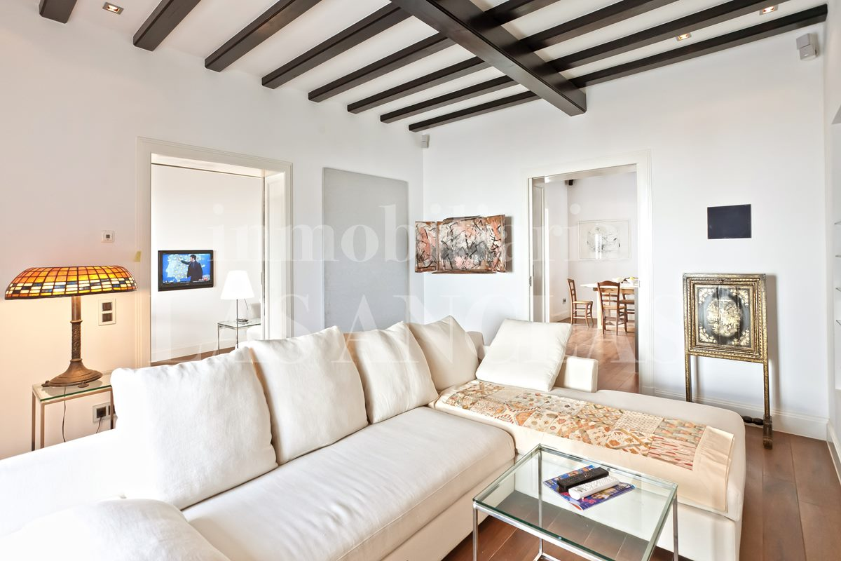 Ibiza Dalt Vila - Luxurious Art-Deco townhouse-villa with 60m² roof terrace and views for sale