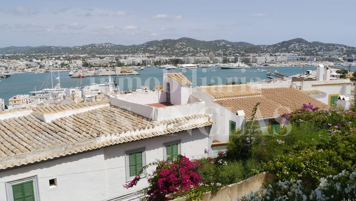 panoramic views - flat / apartment in Dalt Vila Ibiza for sale