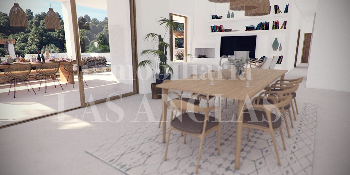 new built luxury villa in Santa Eulalia Ibiza for sale