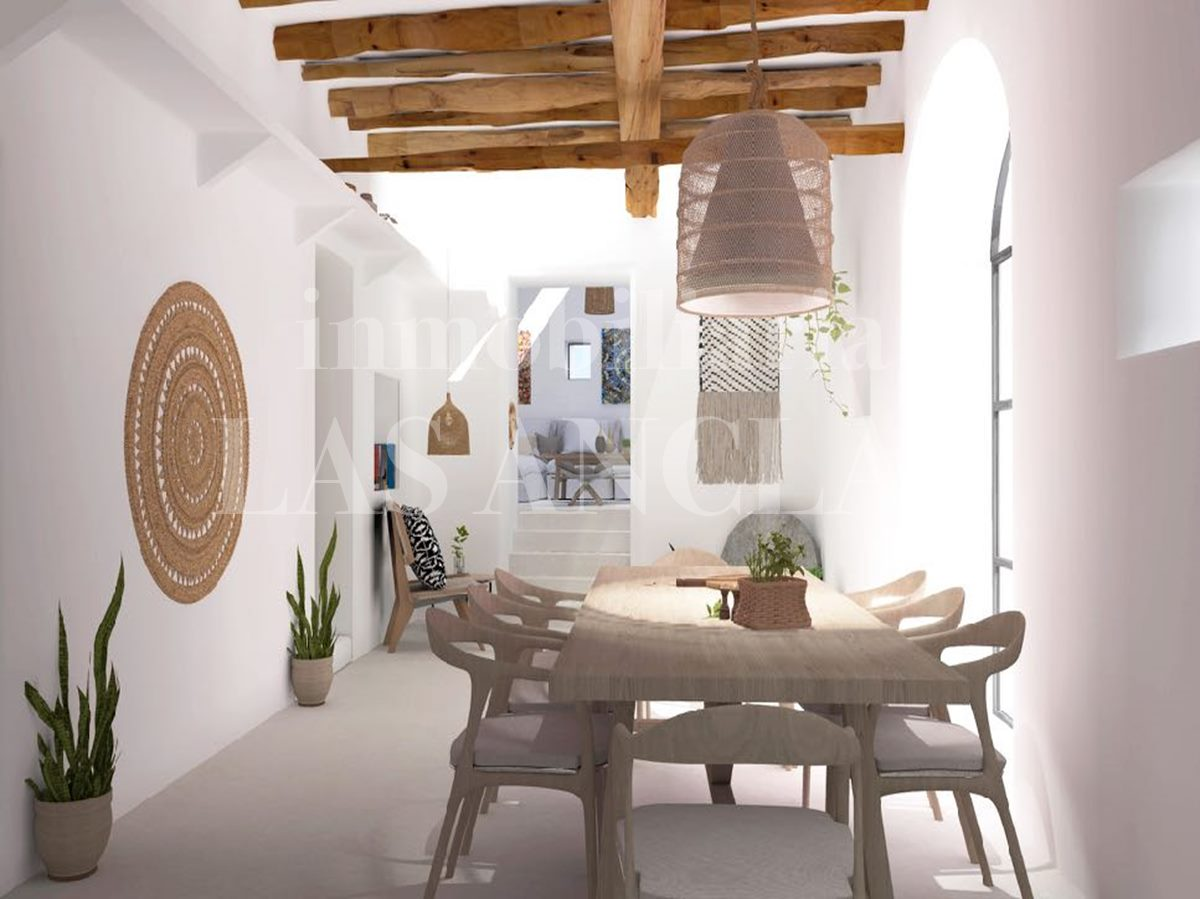 Old farmhouse can be transformed into this beautiful finca with annex - farmhouse/finca in Santa Eulalia Ibiza for sale
