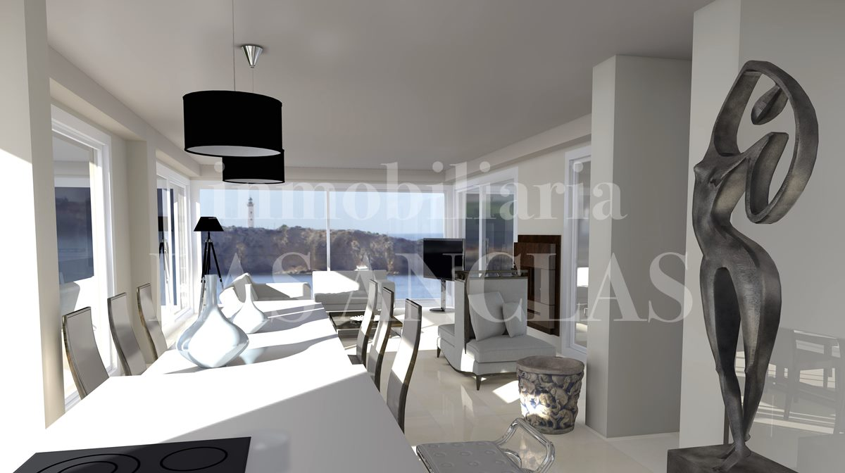 Ibiza Talamanca - Exclusive, newly built luxury penthouse flat in popular location for sale