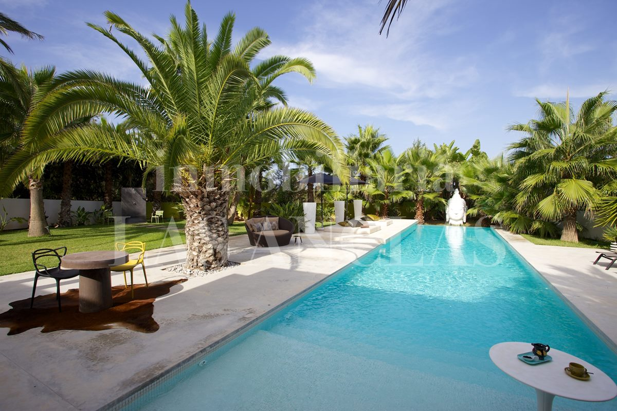 Ibiza San Agustín - Villa with 4 separate guest units and touristic rental license for sale