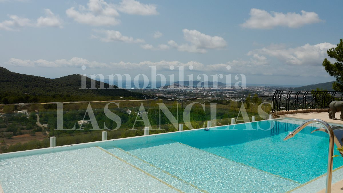 Ibiza Jesús - Extraordinary luxurious villa with spectacular view for sale