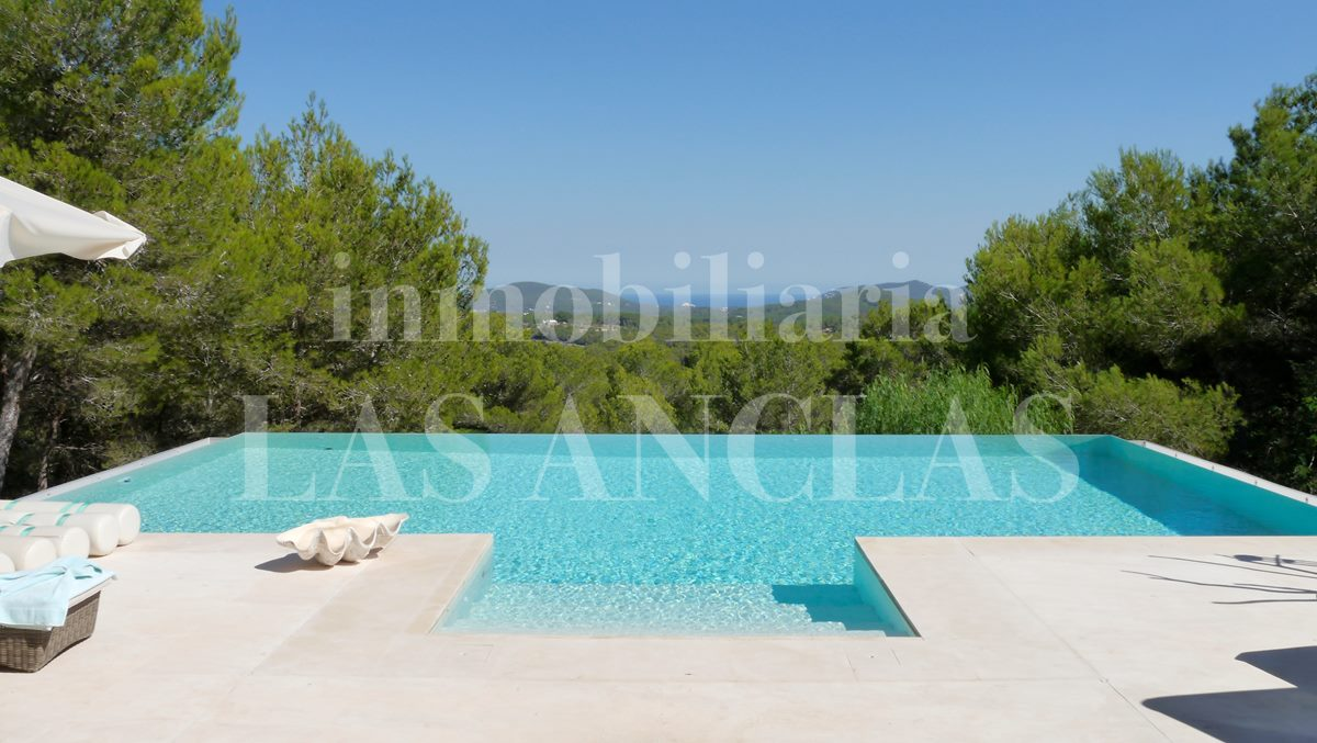 Ibiza Santa Eulalia - A truly magnificent luxury residence in stately location with sea views for sale