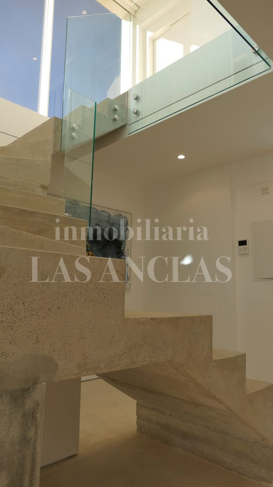 luxury penthouse flat in Talamanca Ibiza for sale