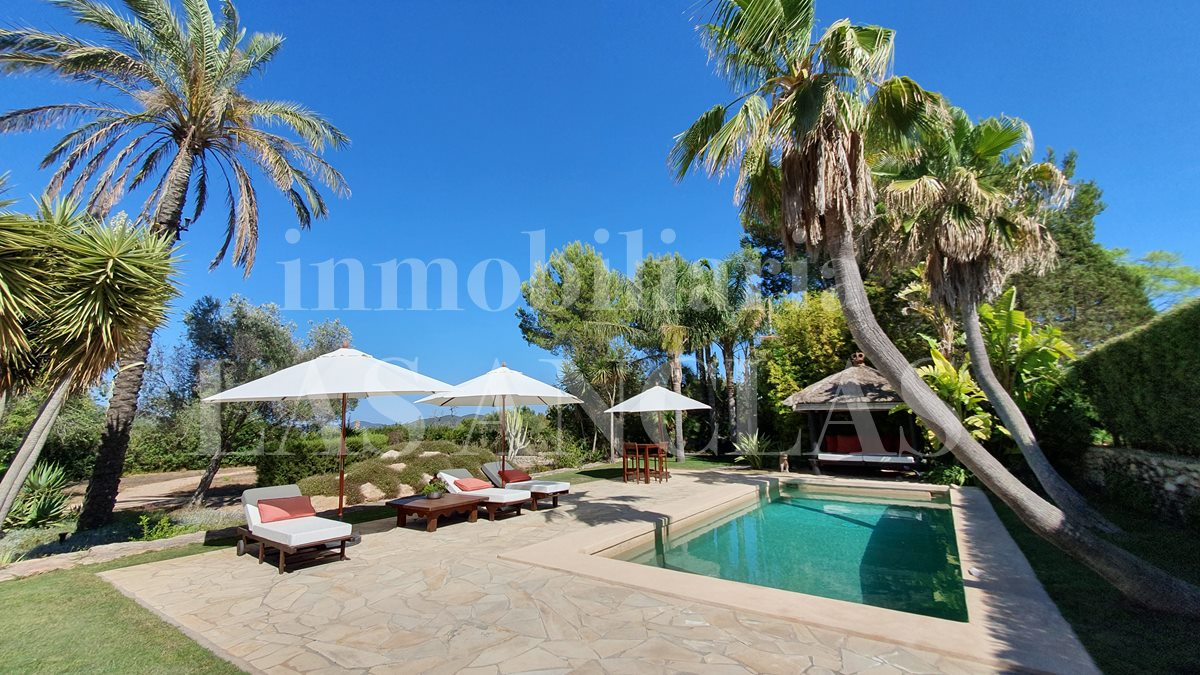 luxury villa in Santa Gertrudis Ibiza for sale