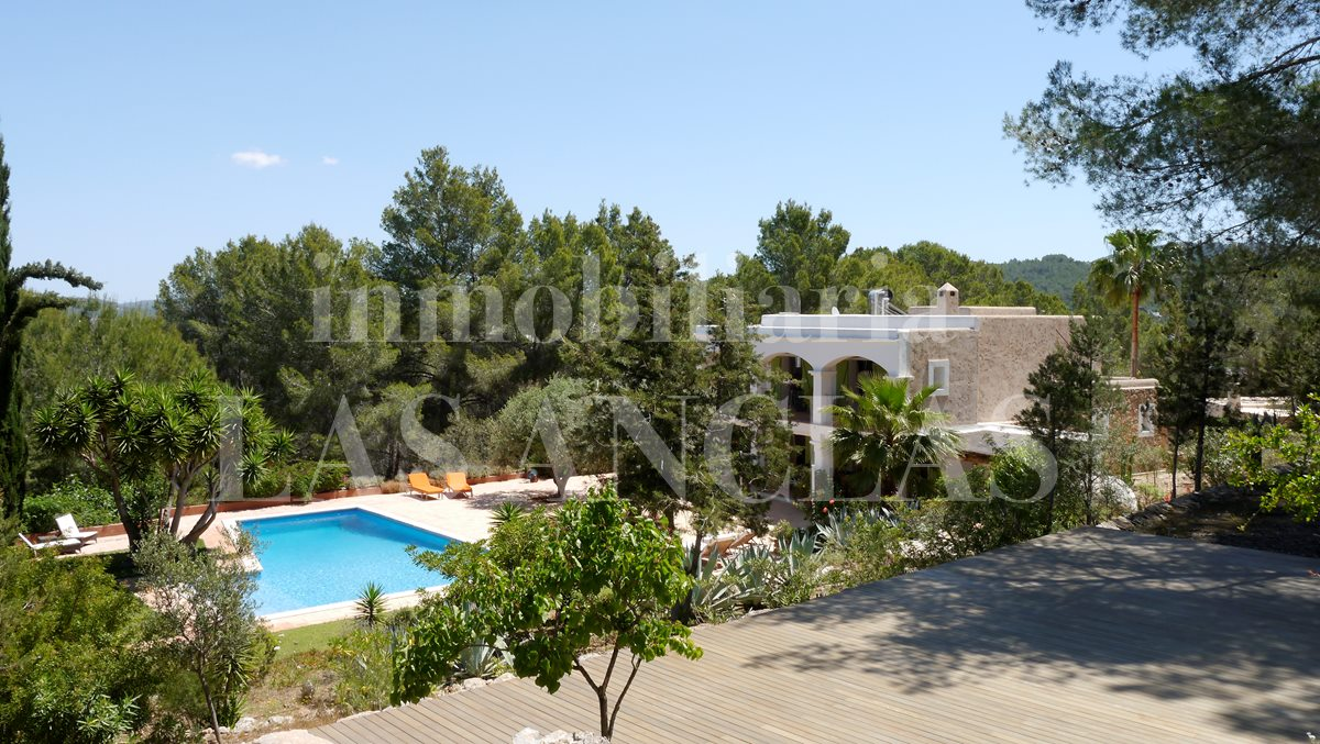 authentic finca mansion in San José Ibiza for sale