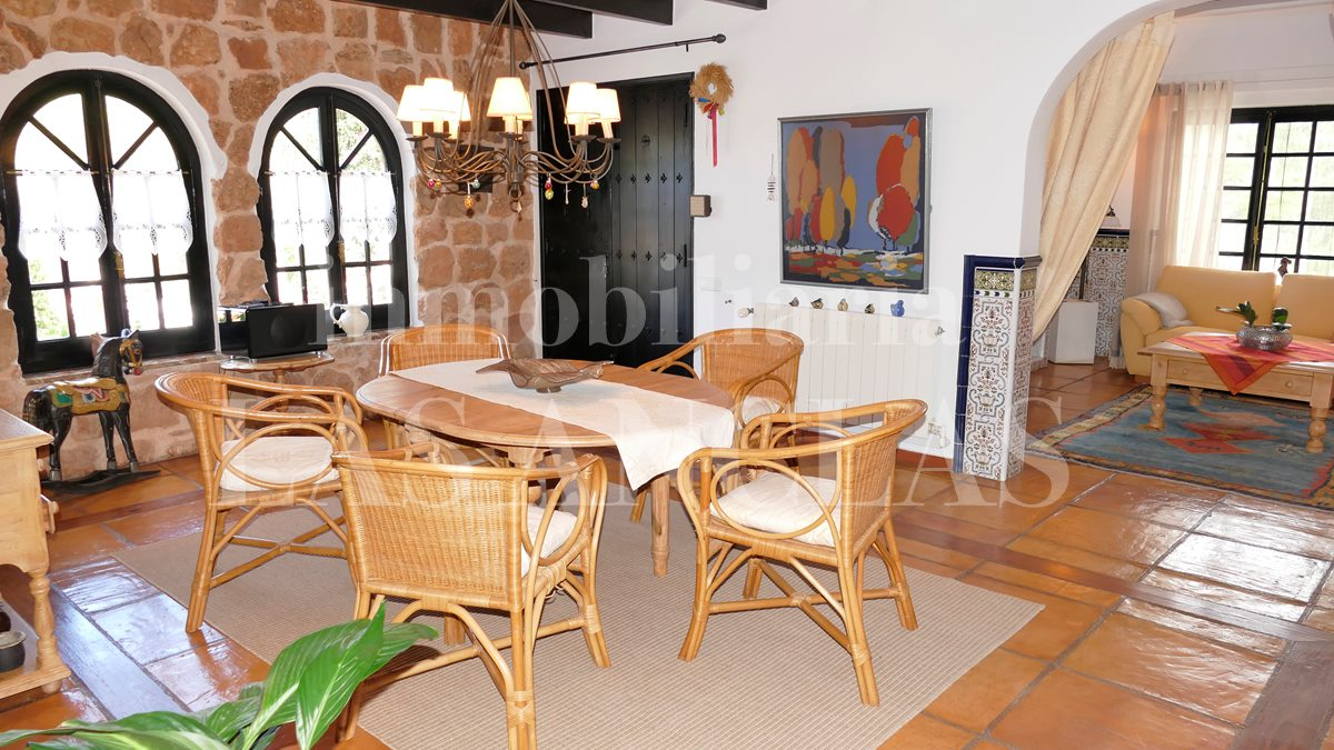 Ibiza west coast - Country house villa with many enchanting details to fall in love with for sale