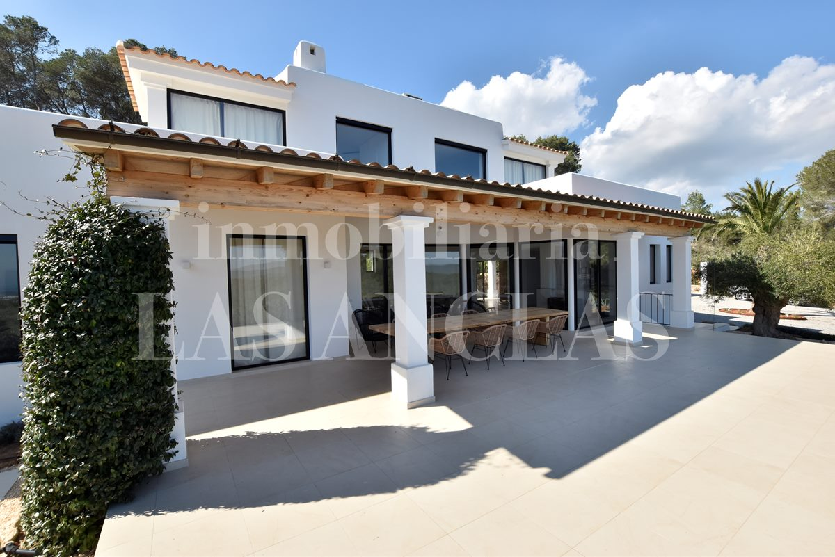luxury villa in Santa Eulalia Ibiza for sale