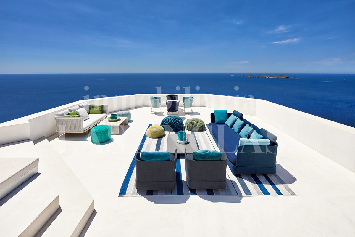 Ibiza west coast - Spectacular luxury mansion in prime location with majestic sea views for sale