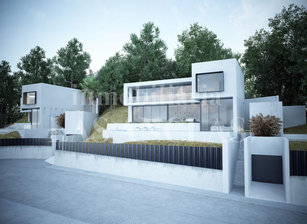 Ibiza Jesús - Minimalist designer luxury villa with awesome sea views for sale