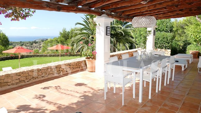 Ibiza Talamanca - Manor finca estate in very luxurious location with majestic sea views to buy