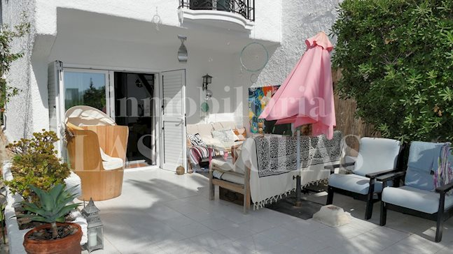 Ibiza Talamanca - Very charming corner terraced house with spacious outdoor area for sale