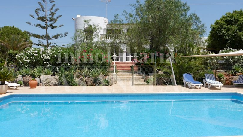 Ibiza Santa Eulalia - Touristic rental license! Large 5-bedroom country house with sea views to buy