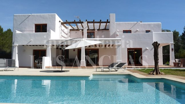 Ibiza Santa Eulalia - 	Modern, Iba style countryside villa with complete privacy to buy