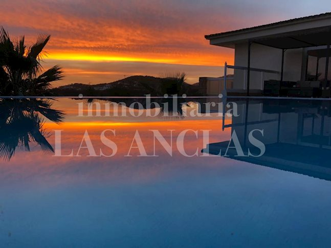 Ibiza Es Cubells - Sun flooded architect´s villa with awesome sea and sunset views to buy