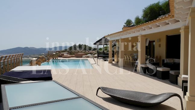 Ibiza Jesús - Extraordinary luxurious villa with spectacular view to buy