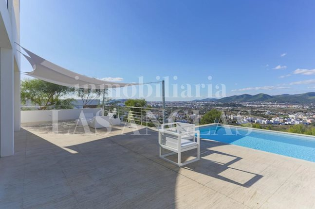 Ibiza Jesús - Modern luxury villa in prime location with spectacular panoramic views for sale