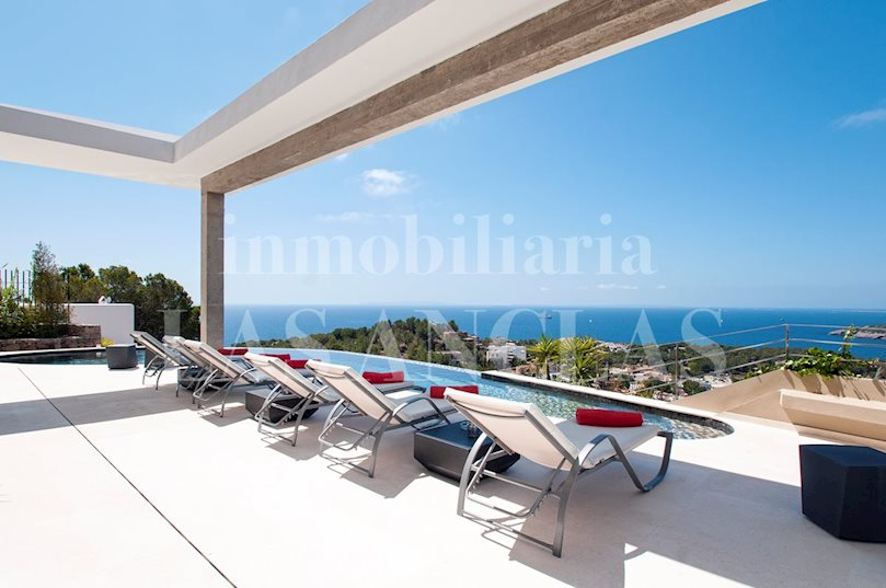 Ibiza Talamanca - Outstanding luxury designer villa in privileged location with awesome views to buy