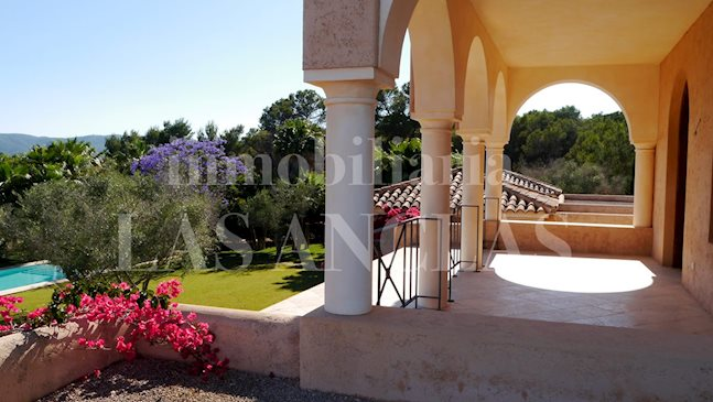 Ibiza San Rafael - Majestic luxury mansion of nearly 680m² with 24,000m² of plot and views to buy
