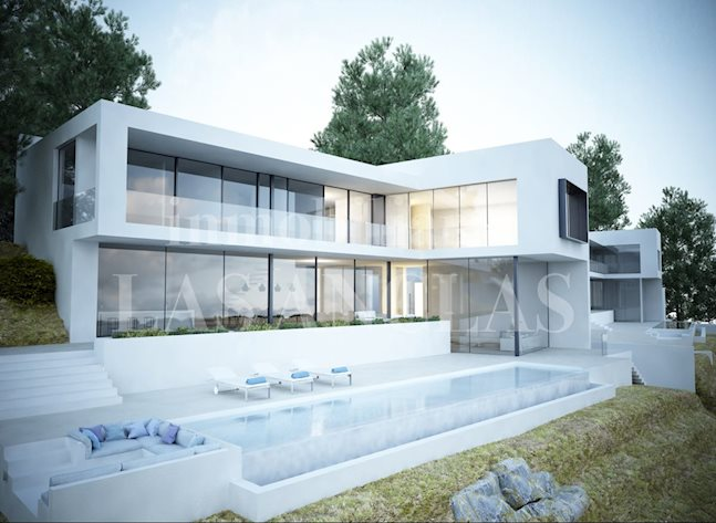 Ibiza Jesús - Minimalist designer luxury villa with awesome sea views to buy