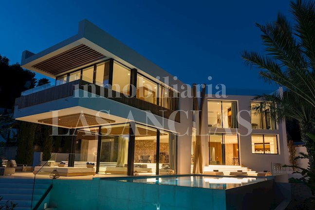 Ibiza Jesús - Spectacular luxury villa of extraordinarily high quality with dream views to buy