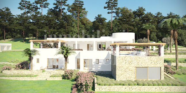 Ibiza Santa Eulalia - New, luxurious and bright country house villa in modern but cosy style for sale