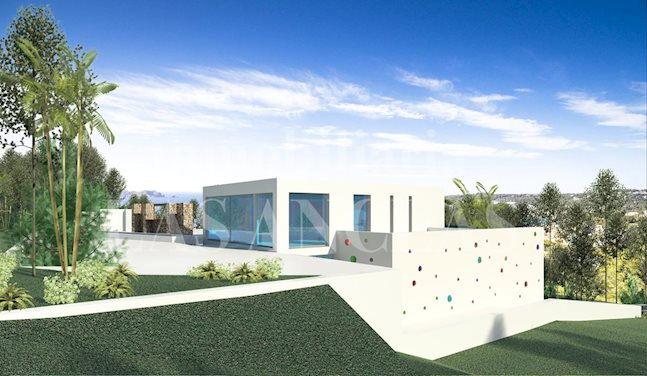 Ibiza Cala Molí - Building plot with license to built a luxurious villa with sea views for sale