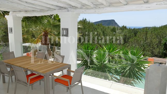 Ibiza between Ibiza & Sta. Eulalia - Marvellous countryside villa with guest house fascinating views to buy